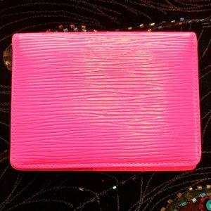 Louis Vuitton Epi Card / Wallet